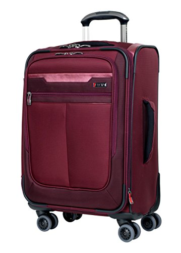 Ricardo Beverly Hills Bel Aire 20-Inch 4 Wheel Expandable Wheelaboard, Wine, One Size (Dropship Wine)