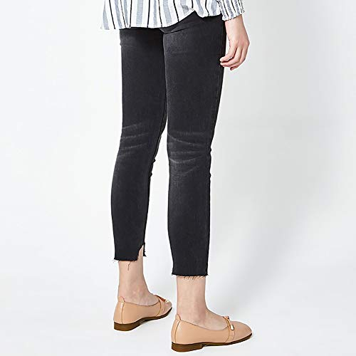 Up Plat Femmes mère Slip Rétro De Yxx Grand Chaussures À 2 2 Lacets Top Jane Mary On Square Taille couleur Bow Chaussure 39 47ddqw
