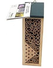 Greenkey 664- Casa per api e vespe solitarie, Colore:Marrone