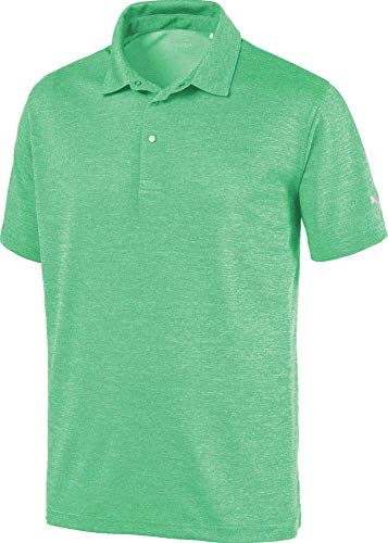 Puma Golf Men's 2019 Grill To Green Polo, Irish Green Heather, Large