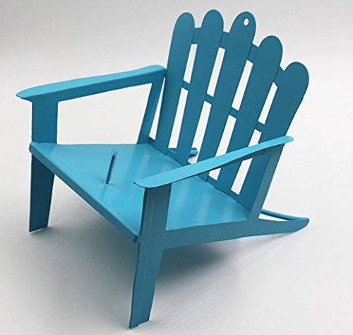 bluee Adirondack Chair Squirrel Feeder (bluee)