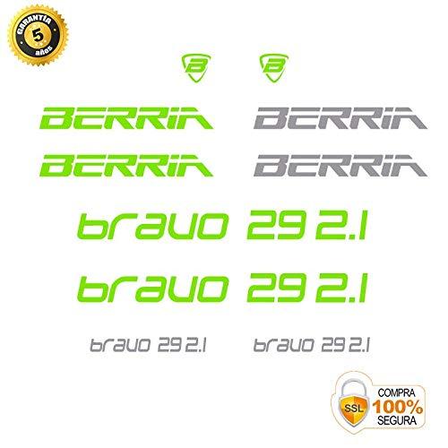 Pegatinas para Bici Sticker Decorativo Bicicleta Juego de Adhesivos en Vinilo para Bici BERRIA Bravo 29 2.1 Pegatinas Cuadro Bici