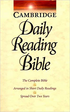Nrsv cambridge daily reading bible cambridge university press nrsv cambridge daily reading bible cambridge university press 9780521509541 amazon books fandeluxe Choice Image