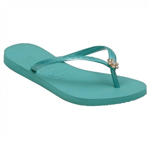 d52a76da9 Havaianas Slim Crystal Flower Sandals Slippers 2010 (US 7 8