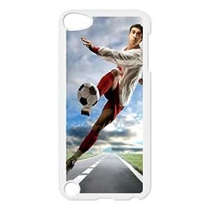 iPod Touch 5 Case White Football I8239826