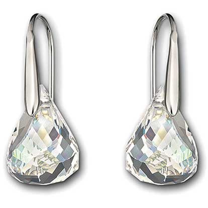 Thailand Swarovski Luna Moonlight Pierced Earrings (Swarovski Pierced Earrings)