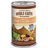 Whole Earth Farms Grain Free Hearty Salmon Stew Canned Dog Food 12*12.7oz