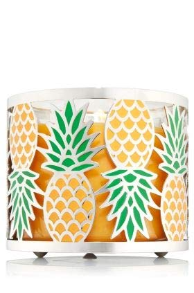 Bath & Body Works Pineapple 3 Wick Candle Sleeve Holder