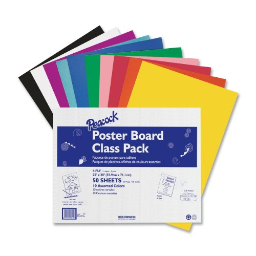 Pacon Poster Boards - Poster Recycled Board