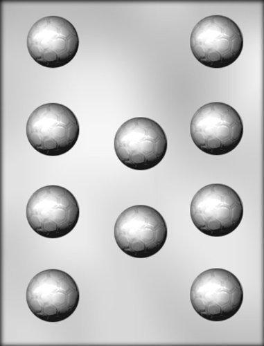 CK Products 1 - 3/8-inch balón de fútbol molde del chocolate por ...