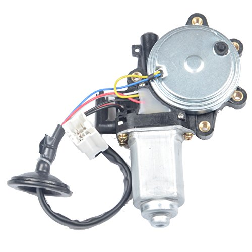Nissan G35 Coupe (A-Premium Anti-Clip Function Window Regulator Motor for Nissan 350Z 2003-2009 Infiniti G35 2003-2007 Front Left Driver Side)