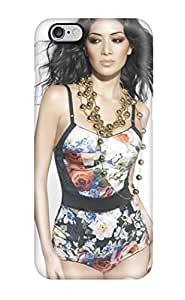 4558573K26896131 Snap On Hard Case Cover Nicole Scherzinger 2010 Photoshoot Protector For Iphone 6 Plus