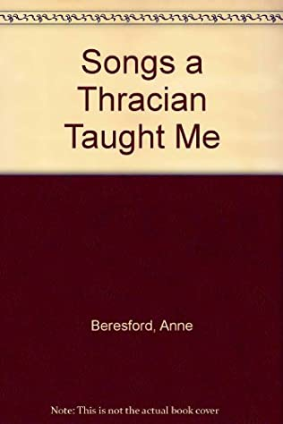 book cover of Songs a Thracian Taught Me