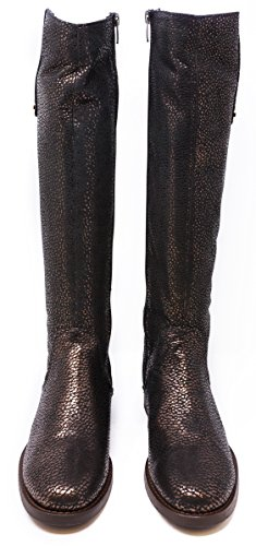 BOBERCK Amelie Collection Women's Metallic Riding Boot (7 US, Copper)