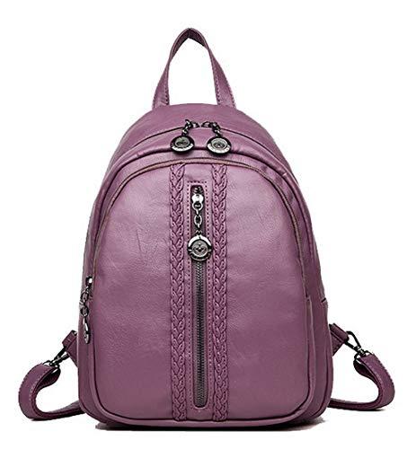 des GMBCB181698 Violet Achats à Femme Zippers Vineux Rouge bandoulière Sacs Sacs AgooLar aHq7tc