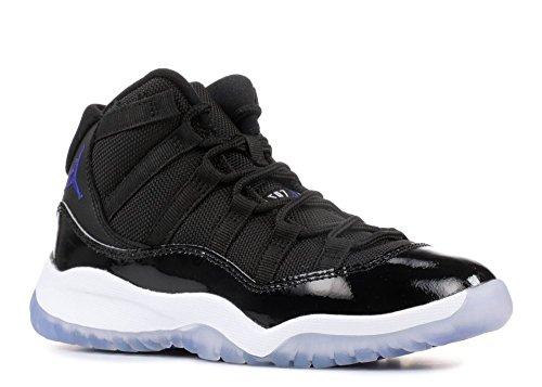 Nike Air Jordan X1 Retro Space Jam 2016 Preschool BP Black Concord White Shoes - 2 M US Little Kid by Jordan