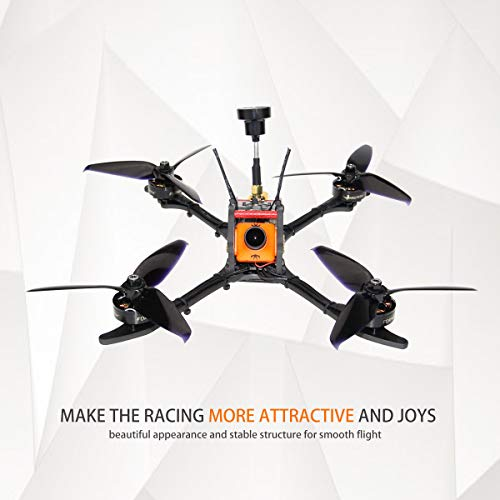 HGLRC Mefisto 226mm FPV Racing Drone F4 Flight Controller 2207 1775KV  Brushless Motor 60A Blheli 32 Bit 4 in 1 ESC 4mm Carbon Fiber Frame Kit  GTX226