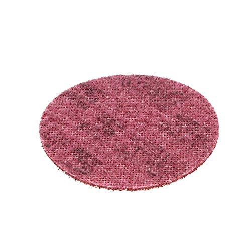 (Scotch-Brite(TM) Surface Conditioning Disc, Hook and Loop Attachment, Aluminum Oxide, 4-1/2 Diameter, Medium Grit (Pack of 10))