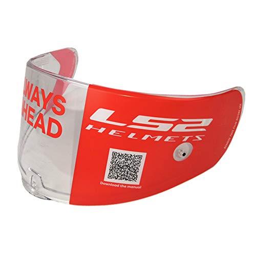 LS2 Citation Helmets Visor FF397 Vector Full Face Carbon Fiber & Glass Fiber Shell Replacement Helmet Face Shield Lens(Clear)