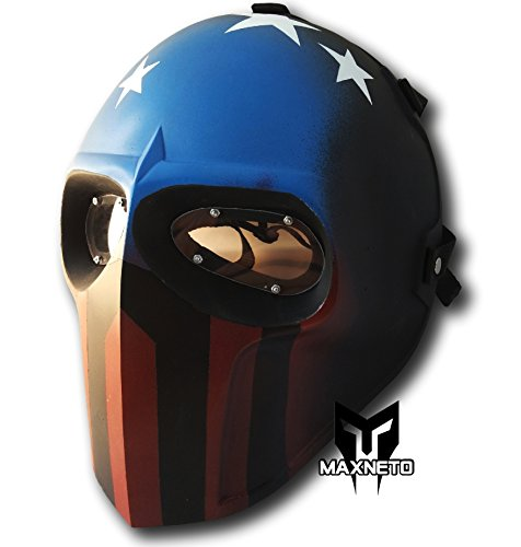 DIEHARD Airsoft Mask Paintball Full Face Protection Mask