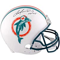 $399 » Dan Marino Miami Dolphins Signed Autograph Authentic On Field Proline Full Size Helmet HOF INSCRIBED Fanatics Authentic Certified