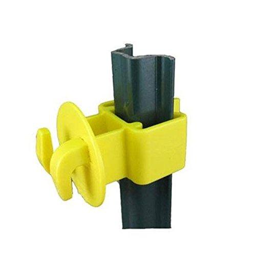Dare Products Yellow Garden U-Post Insulator, 25 Pack