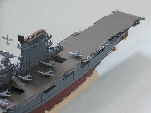 ピットロード 1/700 米海軍レキシントン級 航空母艦 CV-2 レキシントン 1942