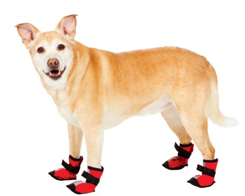 Fashion Pet Red Essential Dog Boots Extra Extra Small, My Pet Supplies
