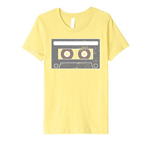 Mix Tape Halloween Costume (Kids Cassette Tape Teen Mix Tape Halloween T Shirt 8 Lemon)