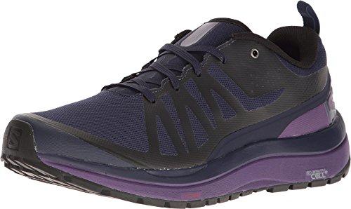 Salomon Women's Odyssey Pro Hiking Shoes Evening Blue/Astral Aura/Acai ()