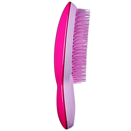 Tangle Teezer The Ultimate Finishing Hairbrush, Dry Styling for all Hair Types - Pink by Tangle Teezer