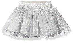 Robeez Girls\' Sparkle Tutu, Silver, 6 Months