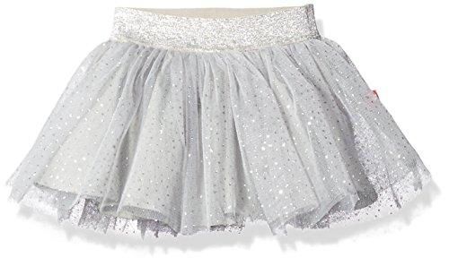 Robeez  baby-girls Sparkle Tutu, Silver, 6 Months -