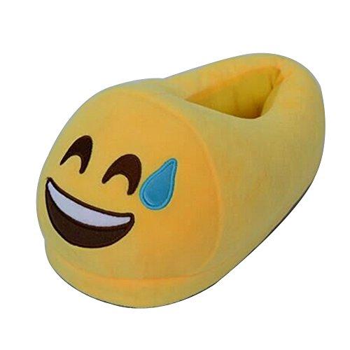 molle accogliente sveglia Scarpe fumetto unisex della della baboosh casa famiglia della del coperta L'uomo Scomodo famiglia farcito Emoji peluche caldo donne Kid pantofole Merda molle inverno caldo BwX0xqIv