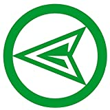 Trucks Windows Motorcycles Laptops Almost Anything LNI AUSTRALIA 9672-034 Fan Emblems Green Arrow Character Car Decal Domed//Multicolor//Clear DC Comics Automotive Emblem Sticker Applies Easily to Cars