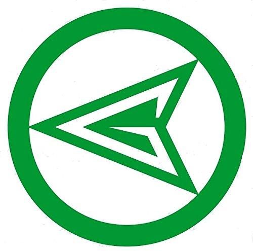 "DC Comics GREEN ARROW 4.5"" Logo Decal Sticker for Laptop ... Green Arrow Superhero Logo"