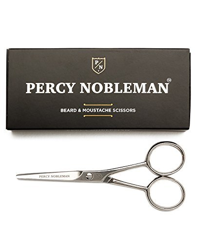 Beard and Mustache Scissors By Percy Nobleman (Men Moustache)