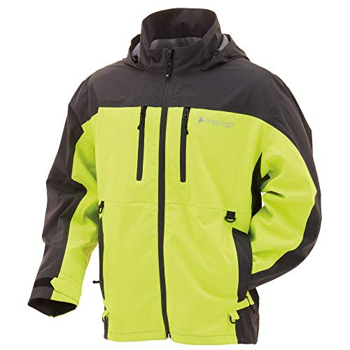 FROGG TOGGS Men's Pilot II Guide Waterproof Breathable Rain Jacket