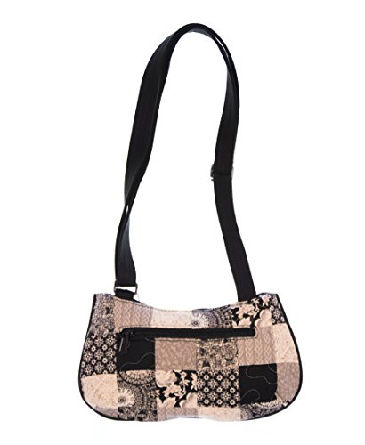 Quilted Hipster Handbag Purse - 8