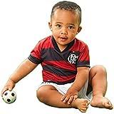 d8c5002d6f Conjunto Infantil Torcida Baby Flamengo Camisa+ Calção Micro Dry Sublimado