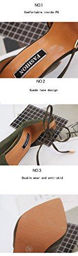 Mode À Sandales Dentelle Rome Lightblue Talons Épais Avec Highxe Hauts En 38 nzgdqwn01