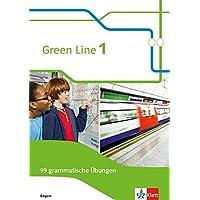 Green Line 1. Ausgabe Bayern: 99 grammatische Übungen mit Lösungen 5. Klasse (Green Line. Ausgabe für Bayern ab 2017)