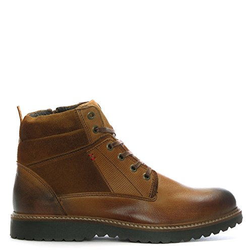 Daniel Reid Tan Leather Lace Up Ankle Boots Tan Leather