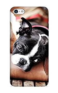 Hot Snap-on Animal Dog Hard Cover Case/ Protective Case For Iphone 5c