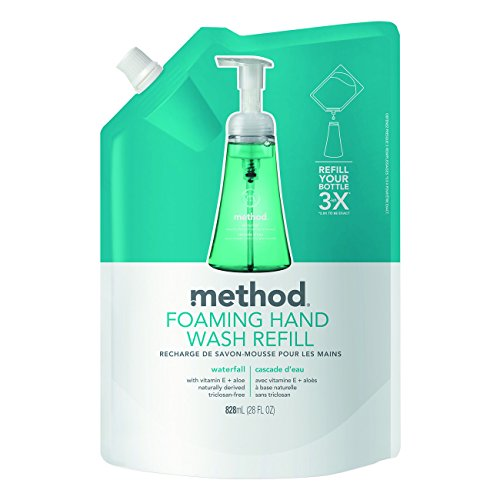 Method 01366 Foaming Hand Wash Refill, Waterfall Scent, P...