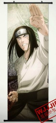 Home Decor Naruto Hyuuga Neji Cosplay Wall Scroll Poster 49.2 X 17.7 Inches-446