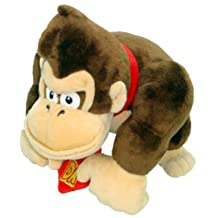 Little Buddy Super Mario Bros 8-Inch Donkey Kong Plush