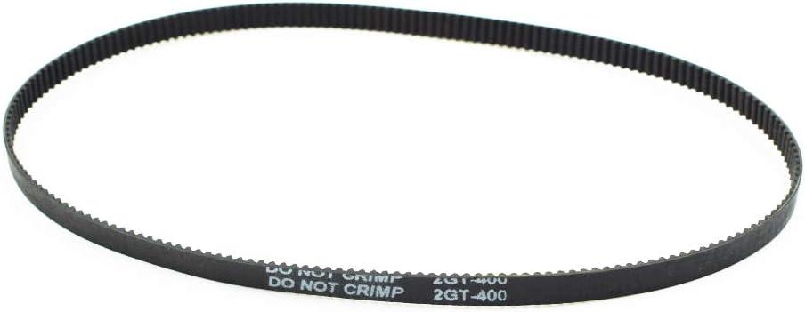 LICTOP GT2 Closed Loop Timing Belt Rubber 2GT 6mm 3D Printers Parts 400 mm Synchronous Belts Part 1 Pc