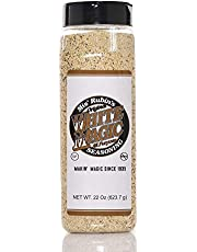 Gourmet All-Purpose Seasoning Black Magic White Magic Original Dry Rub Spice Powder Best Served on Grilled Meat, Vegetables, Steaks, Roasted, Stewed, Baked and Fried Gourmet