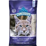 Blue Buffalo Wilderness Grain Free Dry Cat Food, Chicken Recipe, 12-Pound Bag, My Pet Supplies